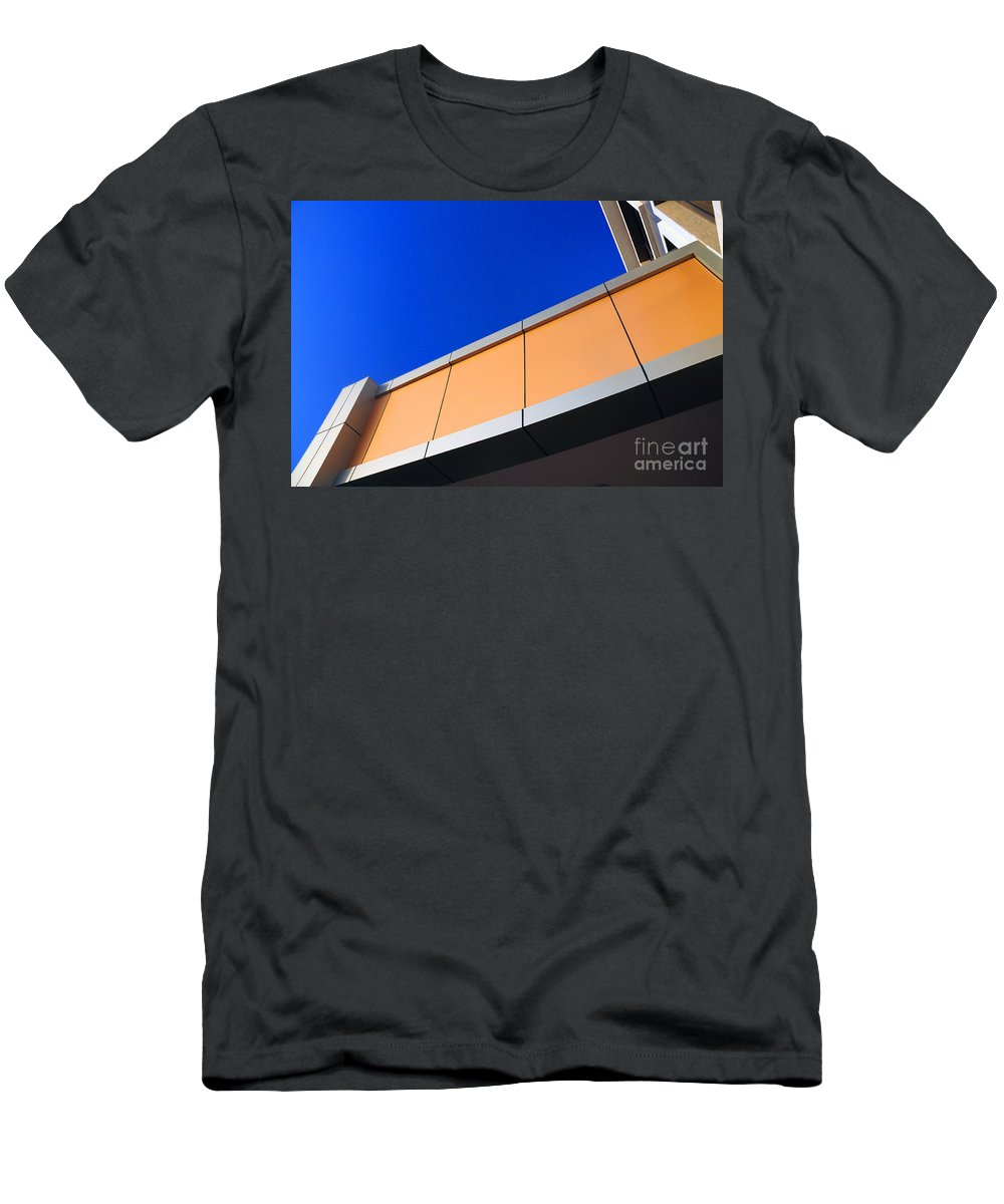 Geometry Men's T-Shirt (Athletic Fit) featuring the photograph Geometry by Dattaram Gawade