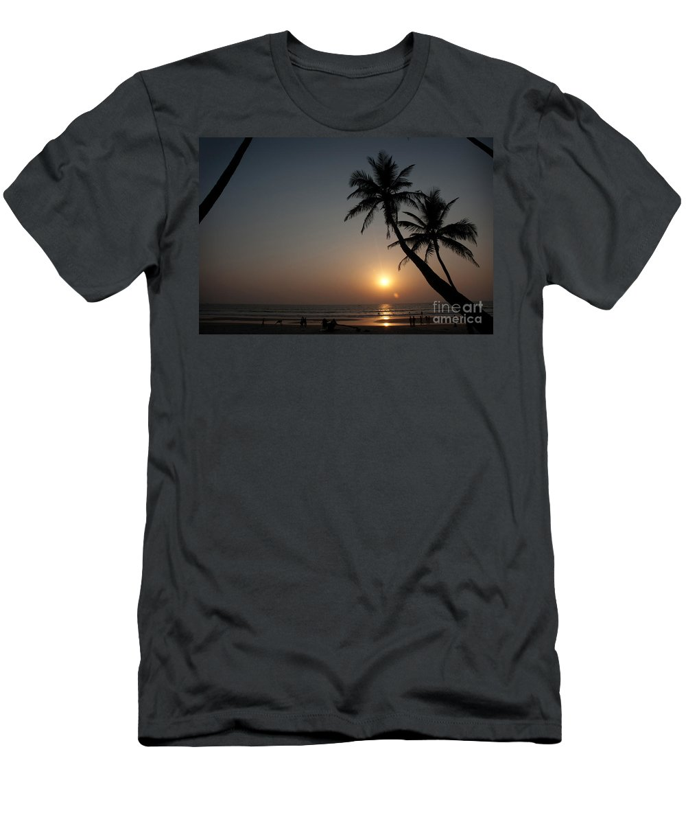 Goa Men's T-Shirt (Athletic Fit) featuring the photograph Goa by Dattaram Gawade