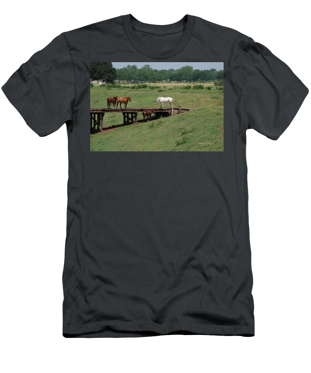 Interior Design Men's T-Shirt (Athletic Fit) featuring the photograph High Level Meeting by Paulette B Wright
