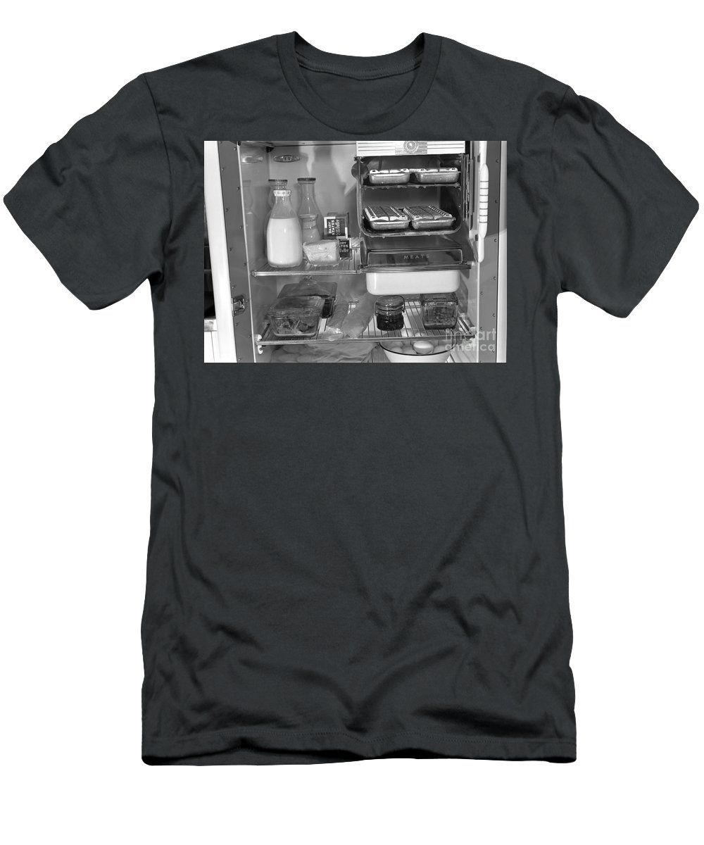 1942 Men's T-Shirt (Athletic Fit) featuring the photograph Icebox, 1942 by Granger