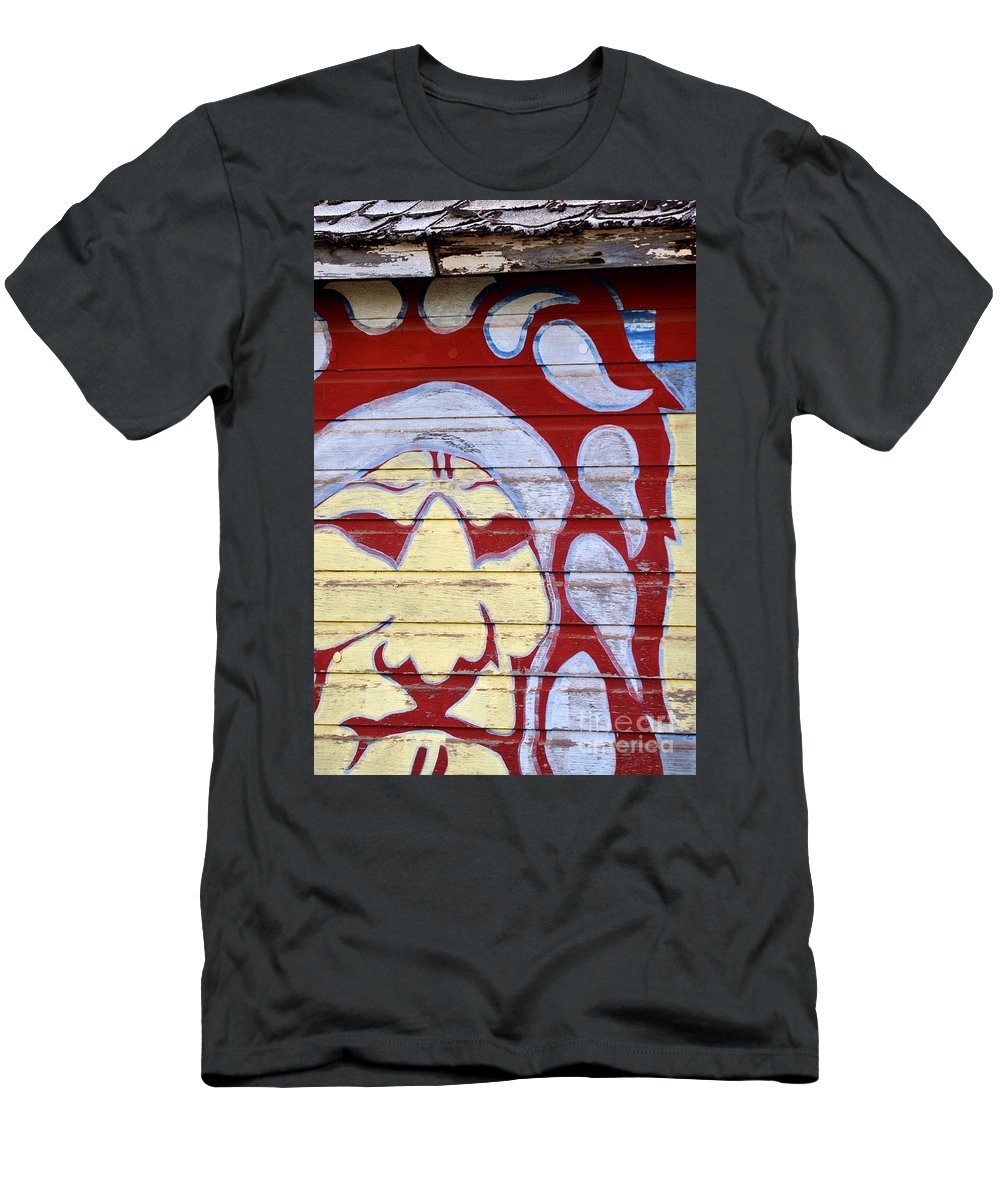 House Men's T-Shirt (Athletic Fit) featuring the photograph Indian House by Anjanette Douglas