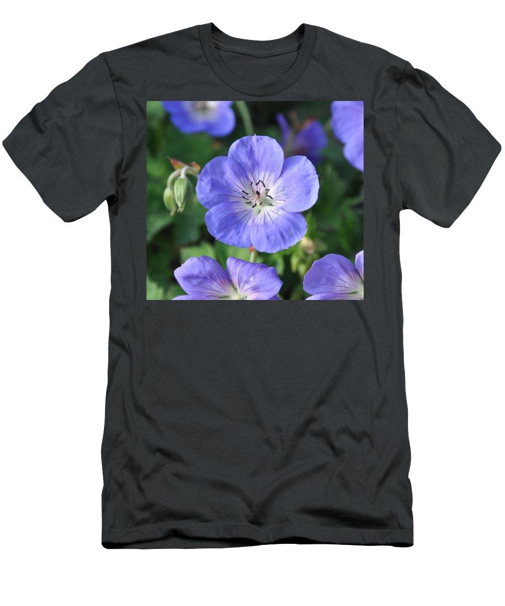 Flower Men's T-Shirt (Athletic Fit) featuring the photograph Itty Bitty Pretty One by Rich Bodane