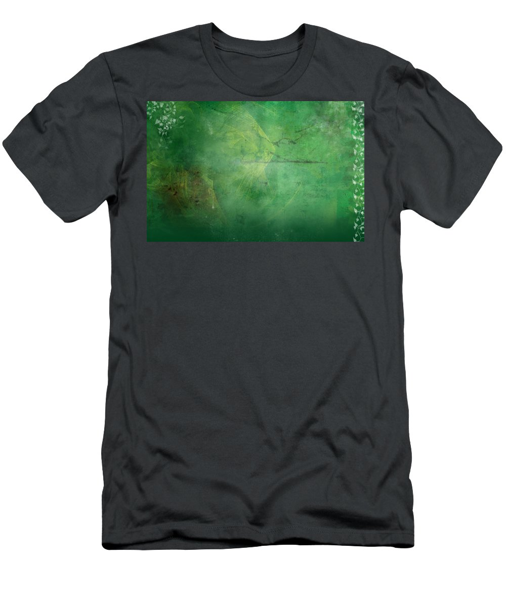 Ivy T-Shirt featuring the painting Ivy League by Christopher Gaston