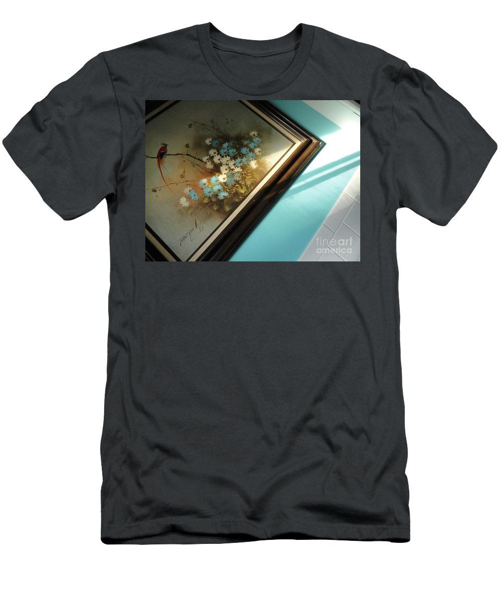 Painting Men's T-Shirt (Athletic Fit) featuring the photograph Light Painting by Trish Hale