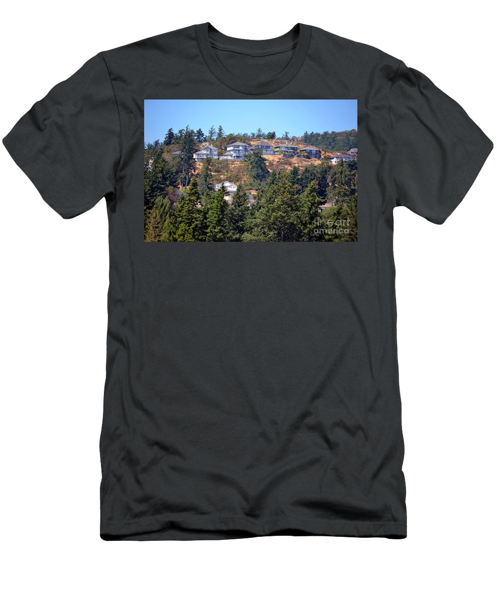 Canada Men's T-Shirt (Athletic Fit) featuring the photograph Mountain Life by Traci Cottingham