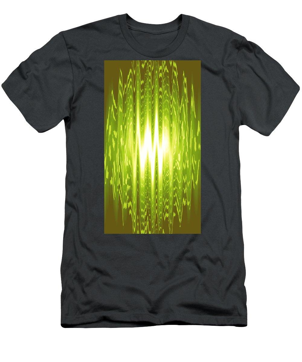 Moveonart! Global Gathering. -- Digital Abstract Art By Artist Jacob Kane -- Omnetra Men's T-Shirt (Athletic Fit) featuring the digital art Moveonart Gowhenyoucango by Jacob Kanduch