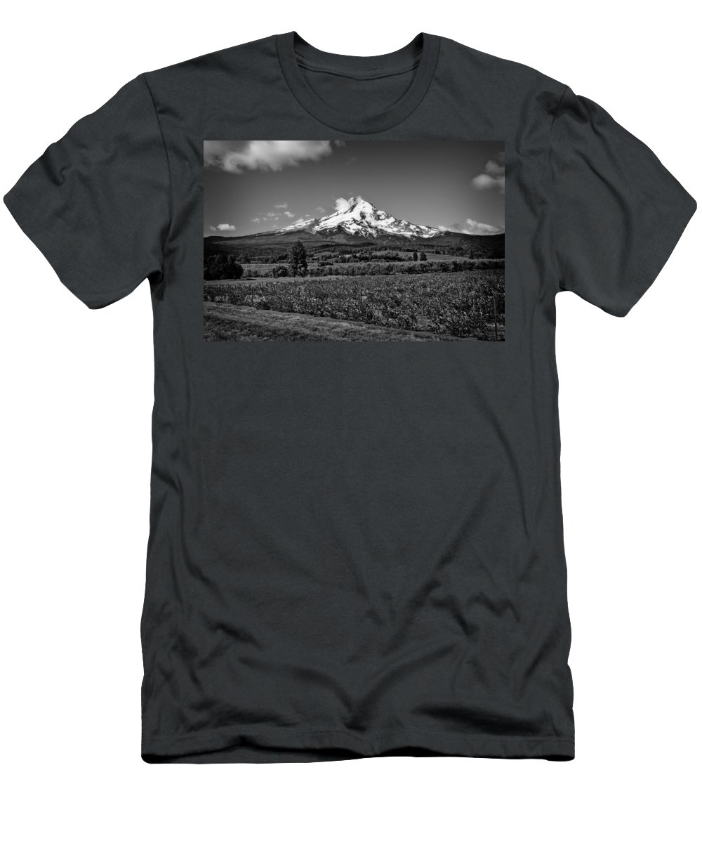 Cloud Men's T-Shirt (Athletic Fit) featuring the photograph Mt. Hood by Jason Smith