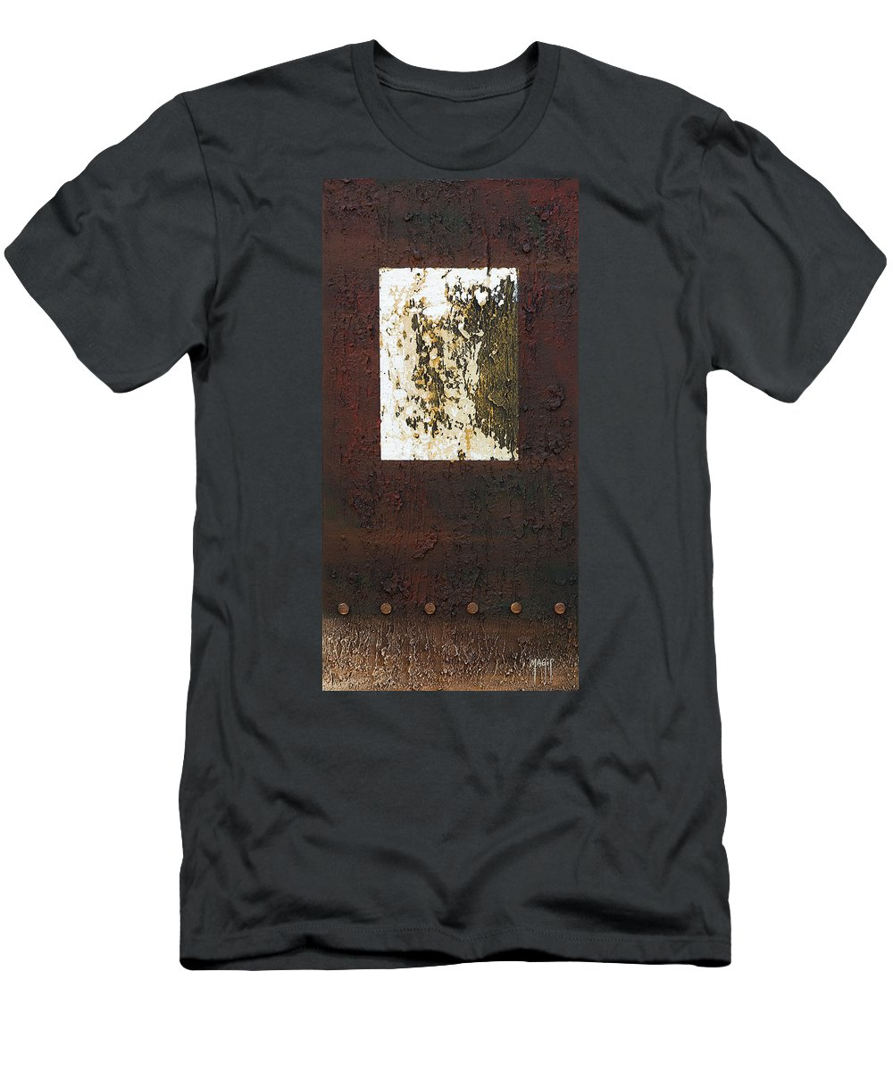 Art Men's T-Shirt (Athletic Fit) featuring the painting Not Square by Mauro Celotti