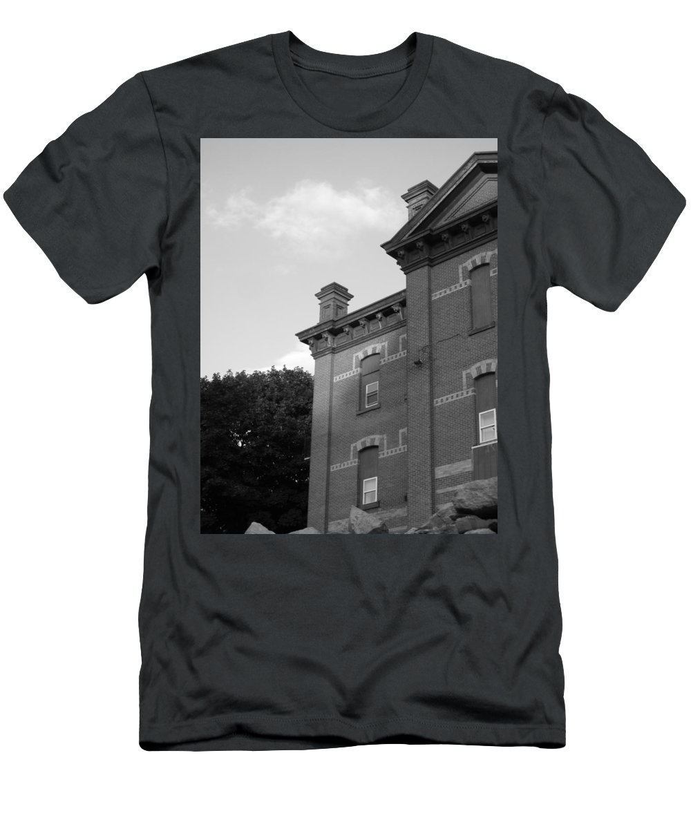 Old School House Men's T-Shirt (Athletic Fit) featuring the photograph Old School House by Michele Nelson
