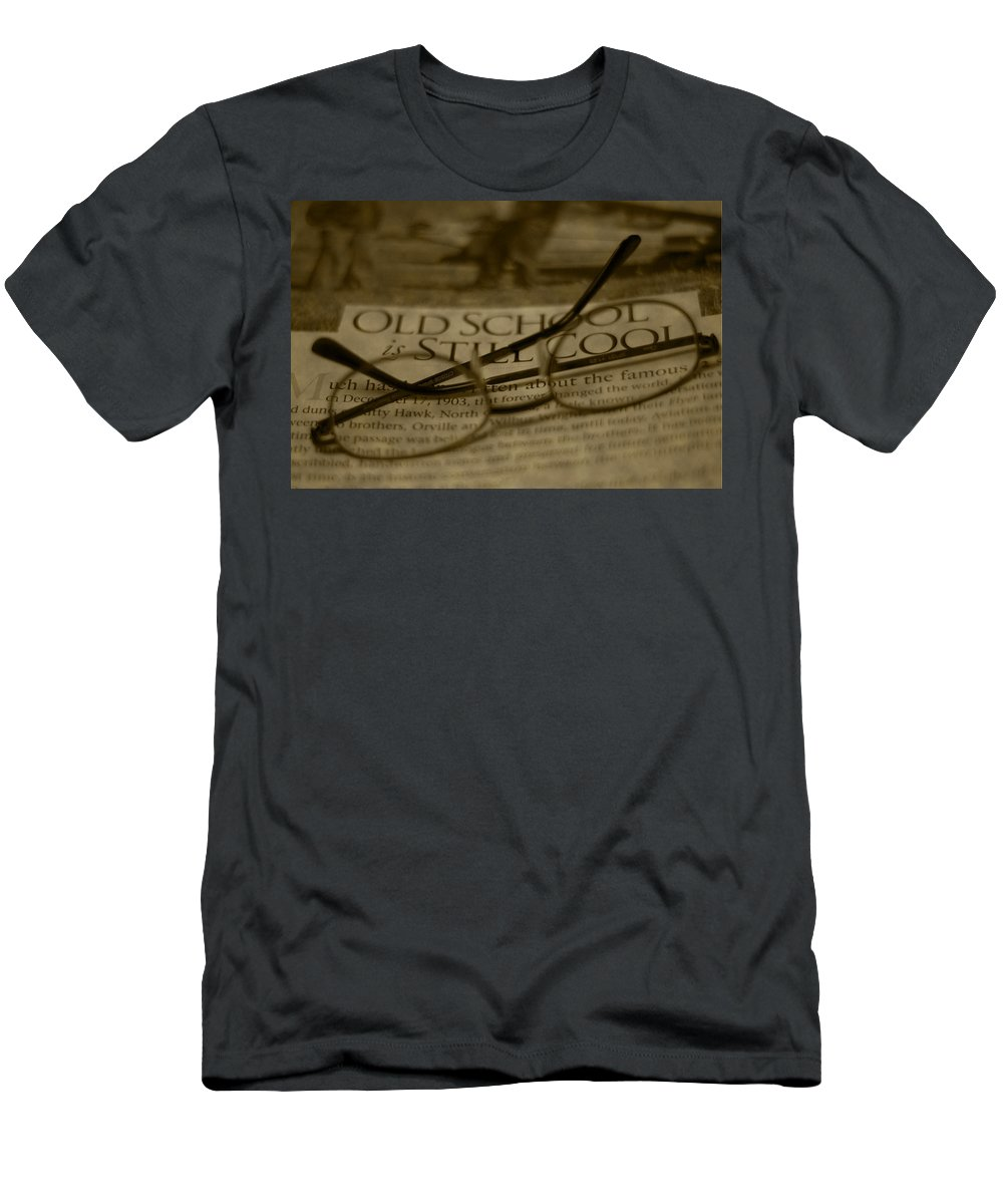 Old School Men's T-Shirt (Athletic Fit) featuring the photograph Old School by Steven Richardson