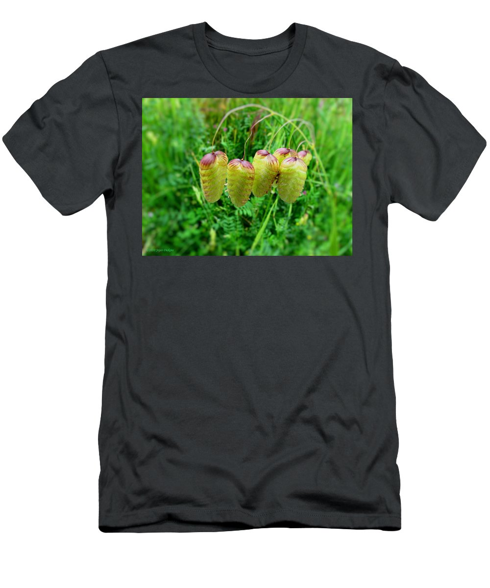 Grass Men's T-Shirt (Athletic Fit) featuring the photograph Ornamental Grasses by Joyce Dickens