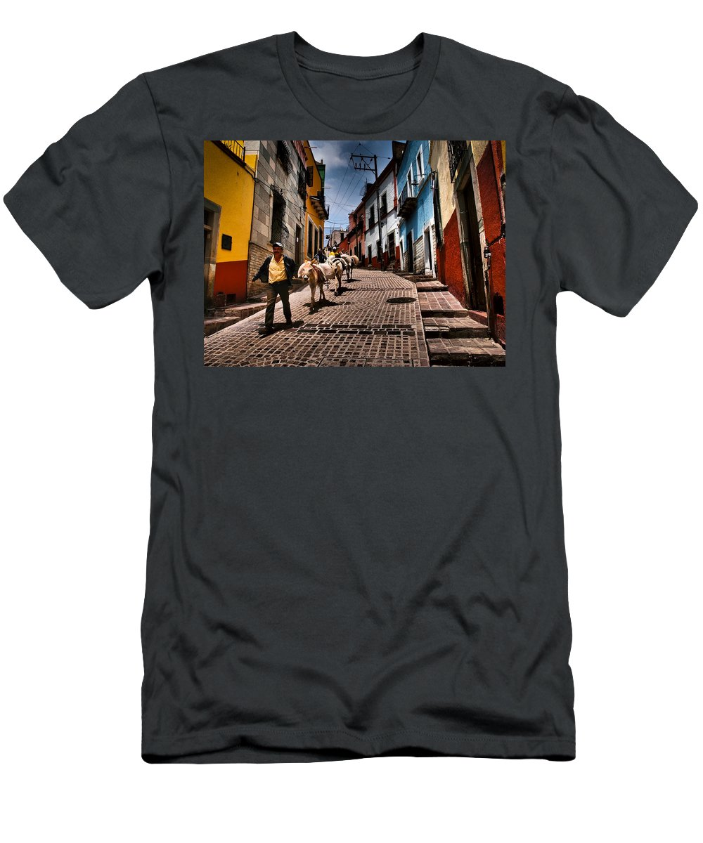 Parade T-Shirt featuring the photograph Parade by Skip Hunt