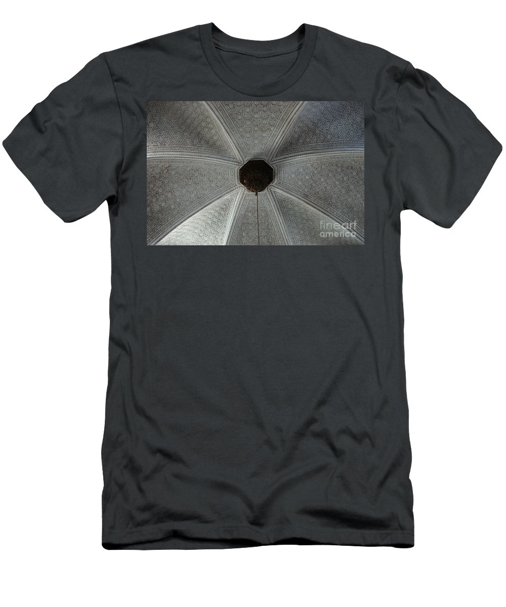 Tunisia Men's T-Shirt (Athletic Fit) featuring the photograph Patterns In Grey by Bob Christopher