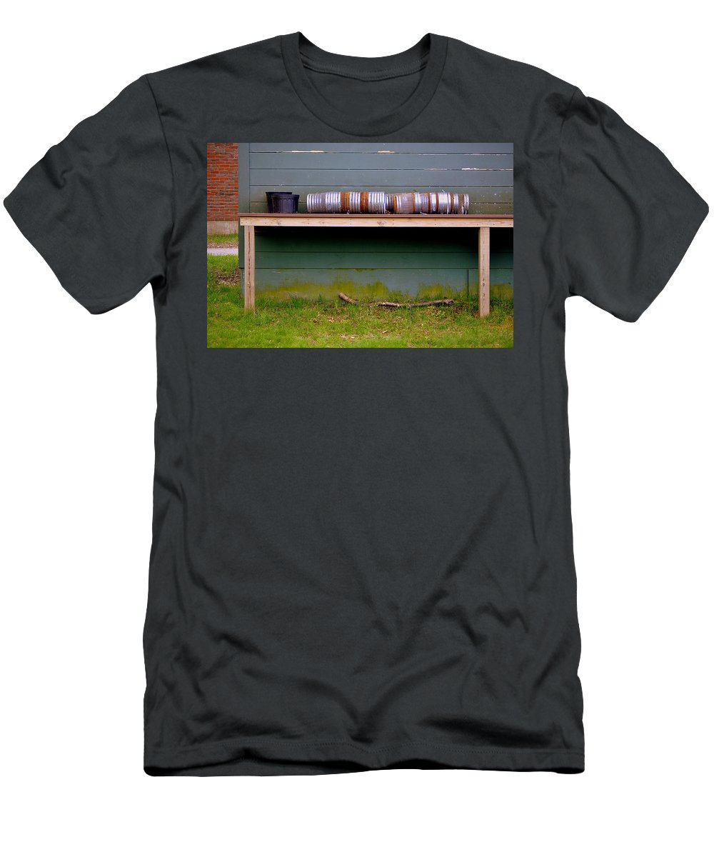 Groton School Men's T-Shirt (Athletic Fit) featuring the photograph Pots by Marysue Ryan
