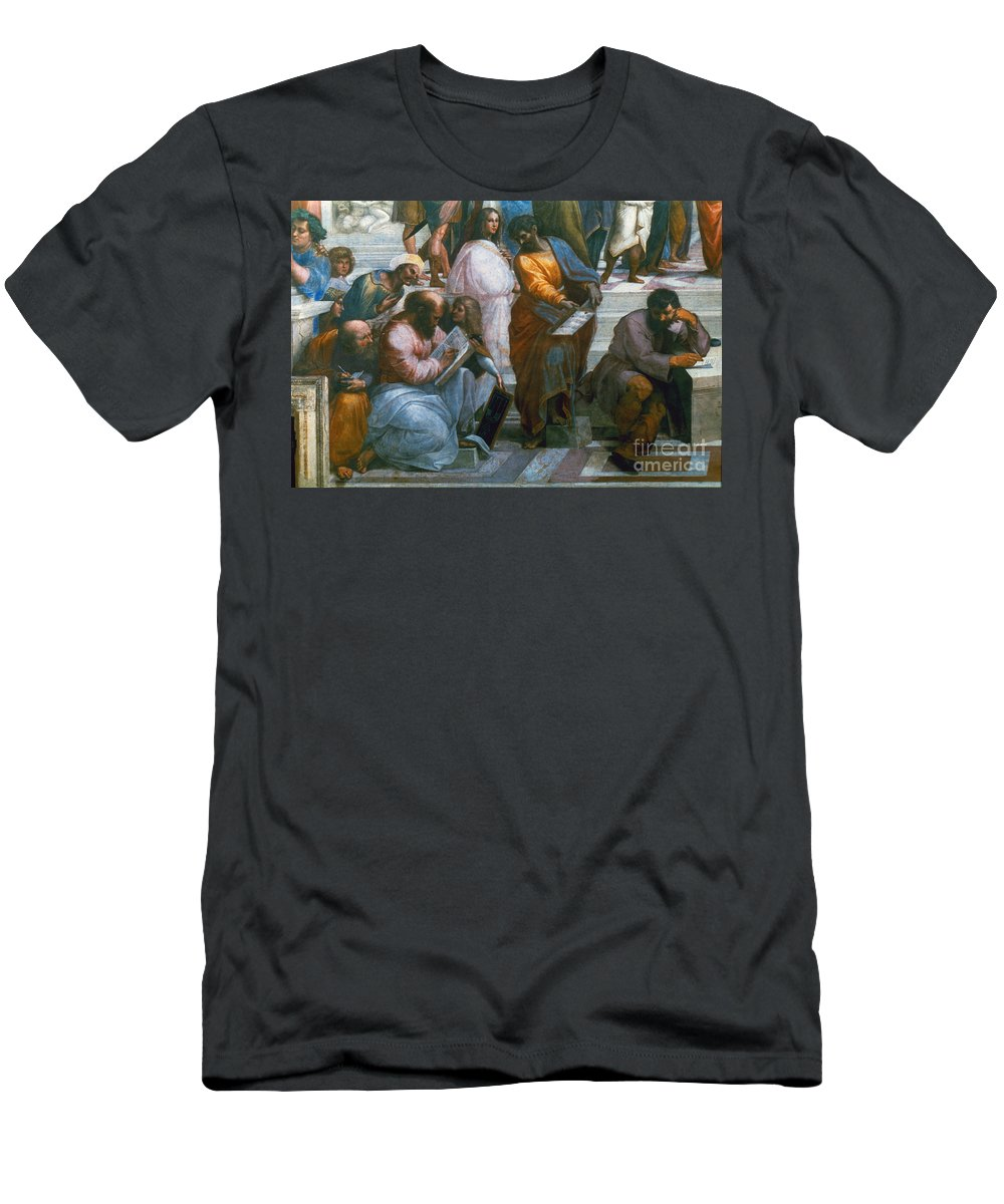 1510 Men's T-Shirt (Athletic Fit) featuring the photograph Pythagoras (569-475 B.c.) by Granger