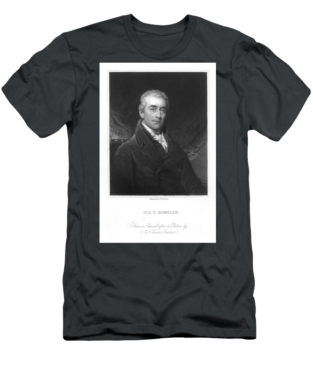 18th Century Men's T-Shirt (Athletic Fit) featuring the photograph Samuel Romilly (1757-1818) by Granger