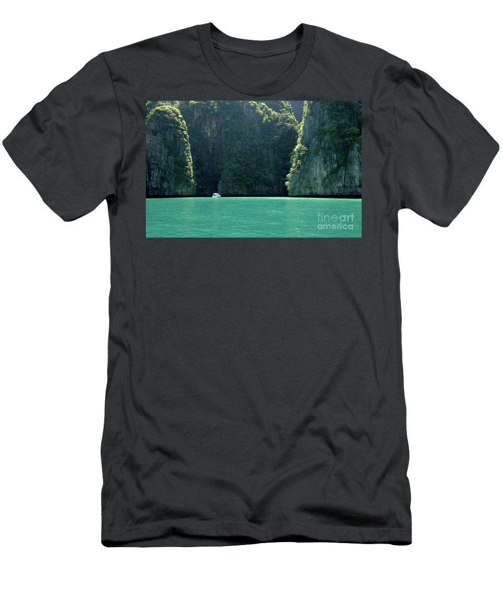Phuket Men's T-Shirt (Athletic Fit) featuring the photograph Serenity by Bob Christopher