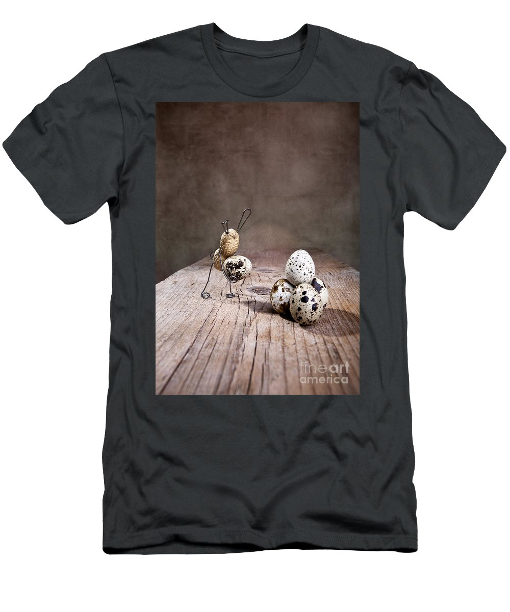 Easter Men's T-Shirt (Athletic Fit) featuring the photograph Simple Things Easter 01 by Nailia Schwarz