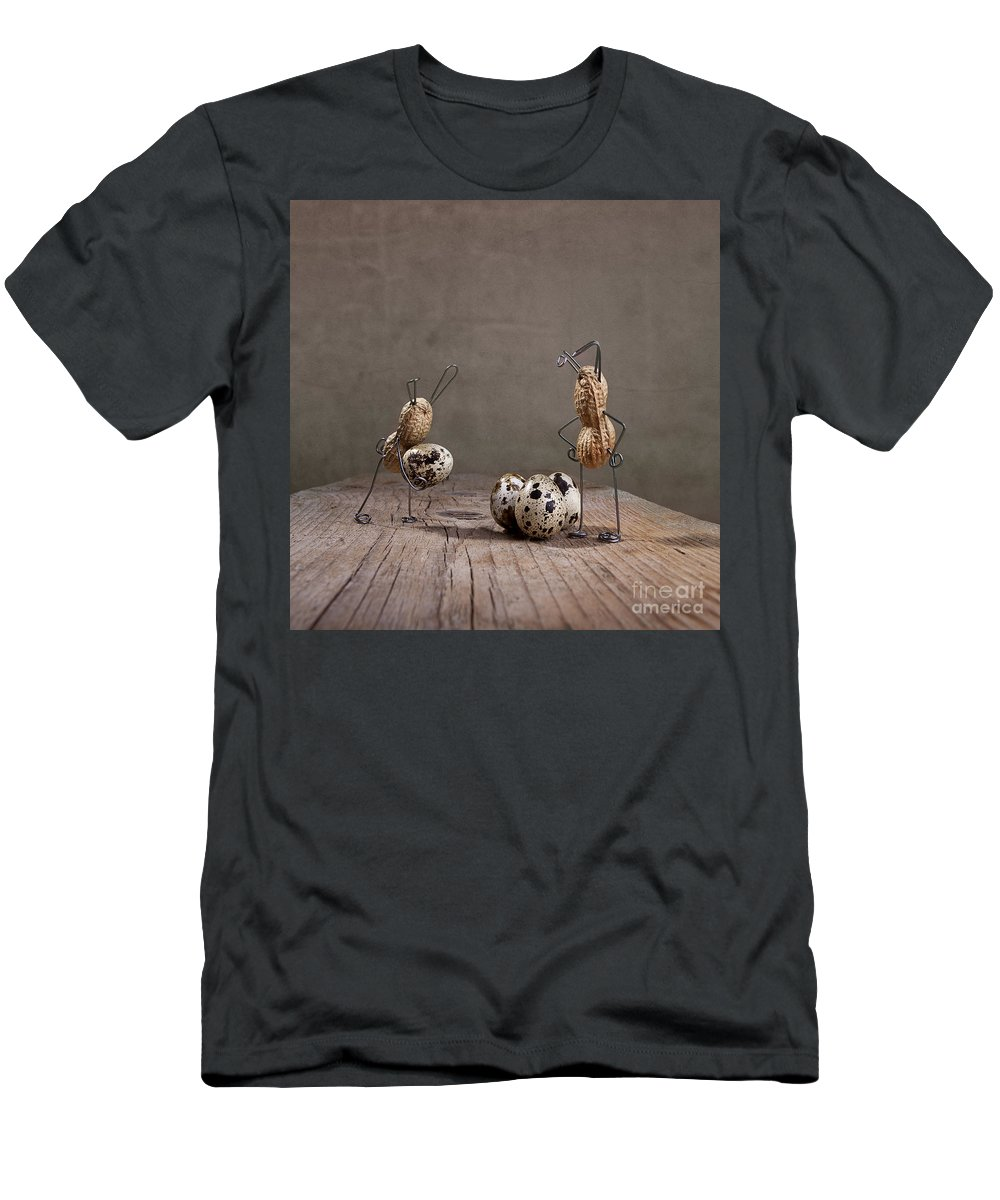 Easter Men's T-Shirt (Athletic Fit) featuring the photograph Simple Things Easter 02 by Nailia Schwarz