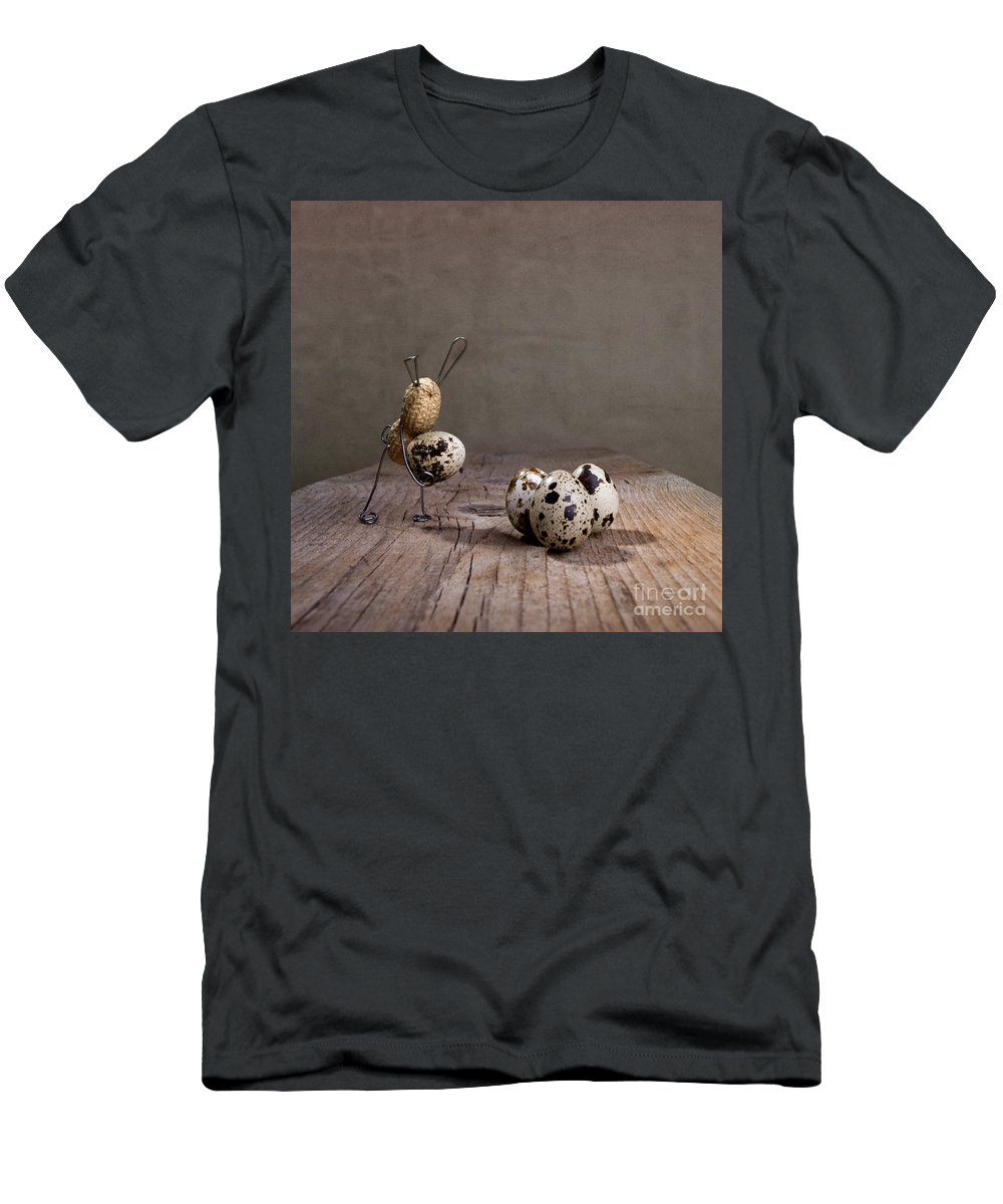 Easter Men's T-Shirt (Athletic Fit) featuring the photograph Simple Things Easter 03 by Nailia Schwarz