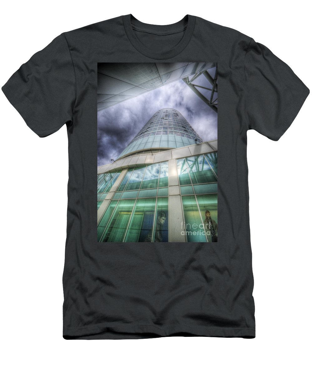 Art Men's T-Shirt (Athletic Fit) featuring the photograph Sky Is The Limit 4.0 by Yhun Suarez
