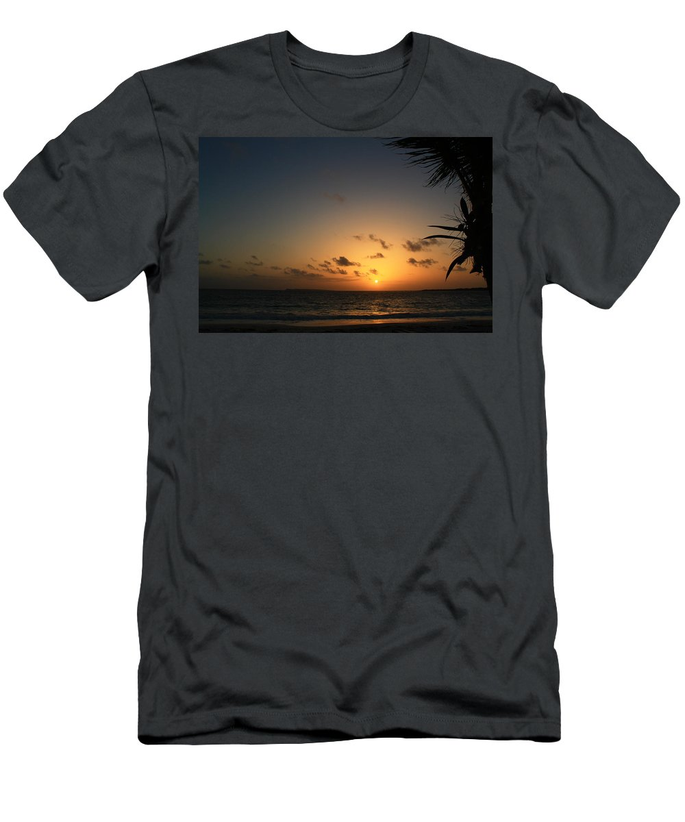 Sunrise Men's T-Shirt (Athletic Fit) featuring the photograph So Nice by Catie Canetti