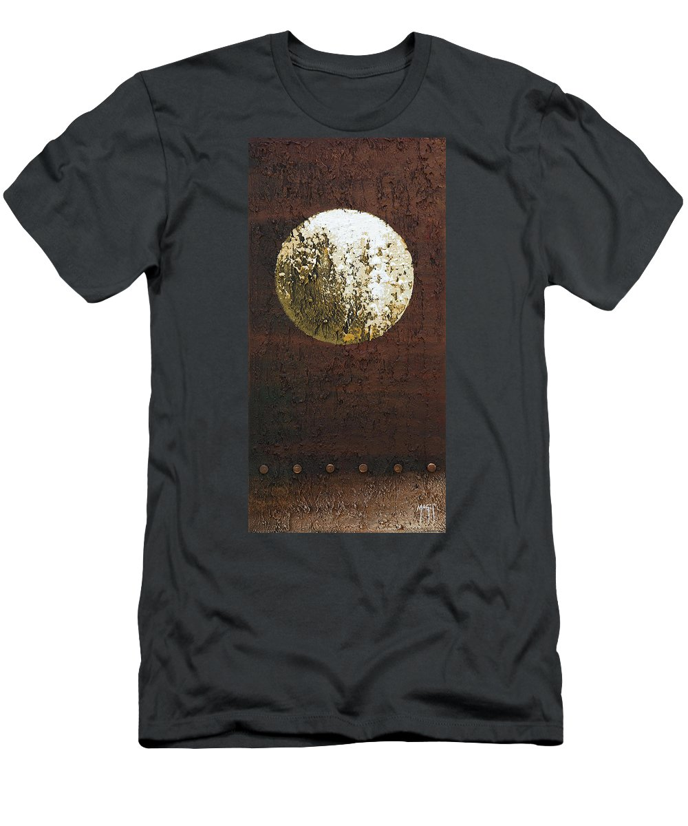 Art Men's T-Shirt (Athletic Fit) featuring the painting Sphere 2 by Mauro Celotti