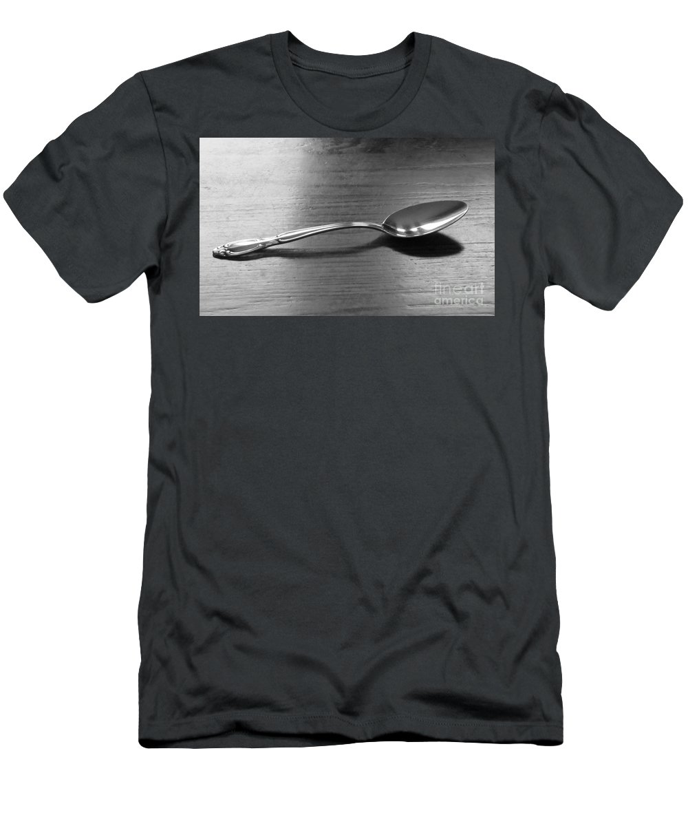 Spoon Men's T-Shirt (Athletic Fit) featuring the photograph Spoon by Michelle Powell