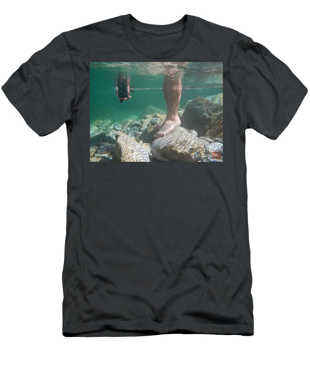 Man Men's T-Shirt (Athletic Fit) featuring the photograph Take A Photo by Mats Silvan