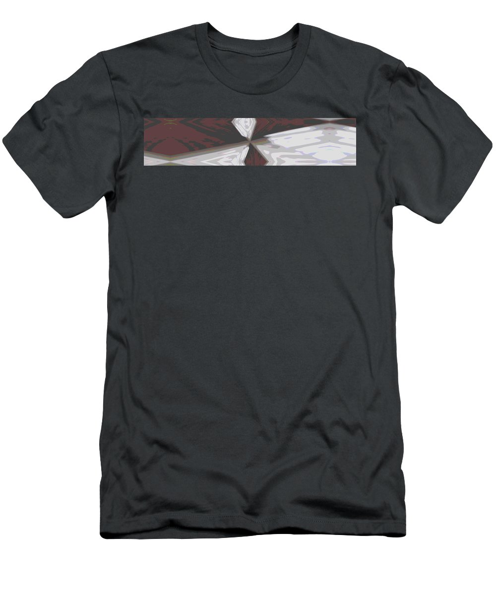 Abstract Men's T-Shirt (Athletic Fit) featuring the digital art The Fulcrum by Tim Allen