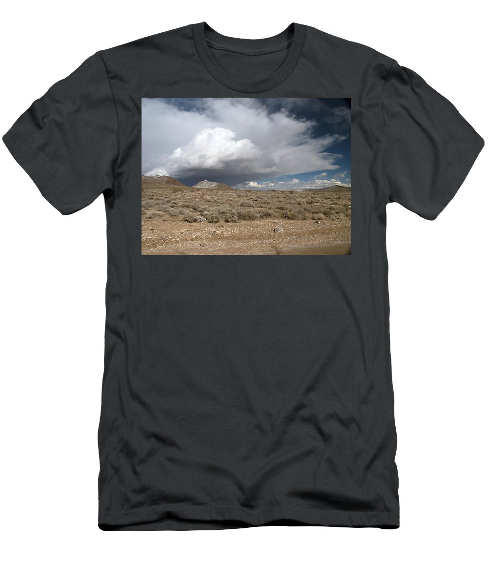 Snow Men's T-Shirt (Athletic Fit) featuring the photograph The Gathering by Joe Schofield