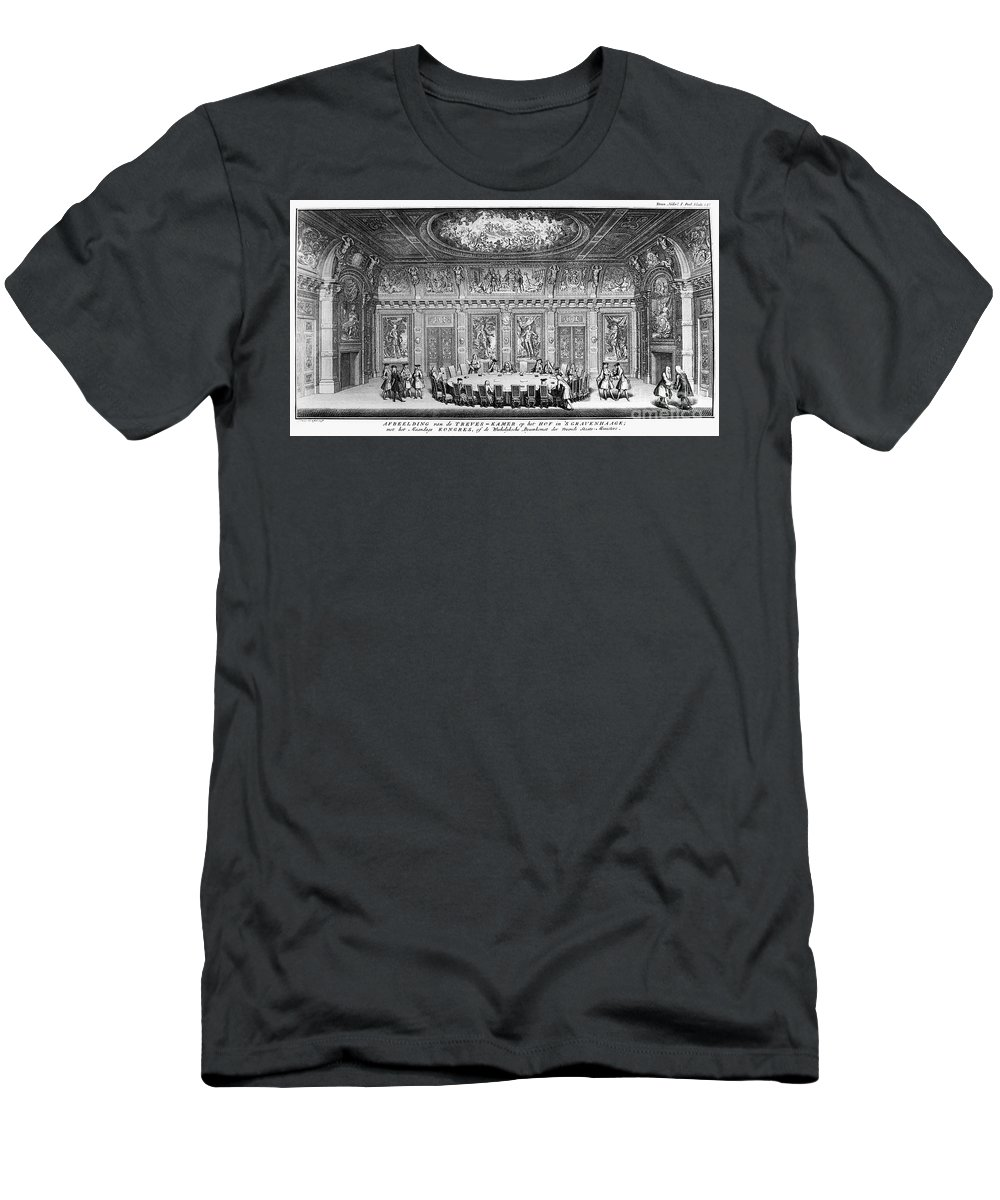 1728 T-Shirt featuring the photograph The Hague: Treveszaal by Granger