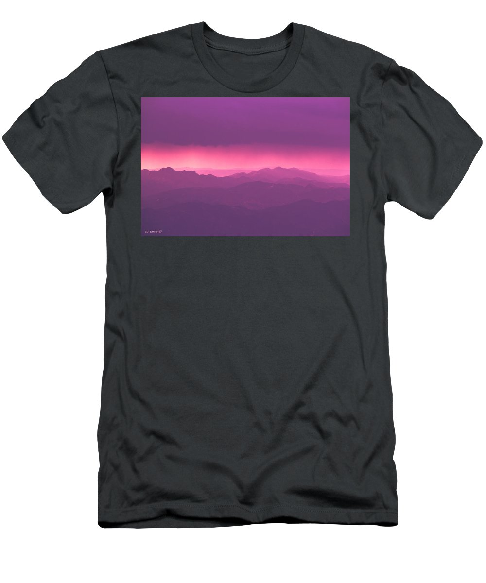 The Journey Begins Men's T-Shirt (Athletic Fit) featuring the photograph The Journey Begins by Ed Smith