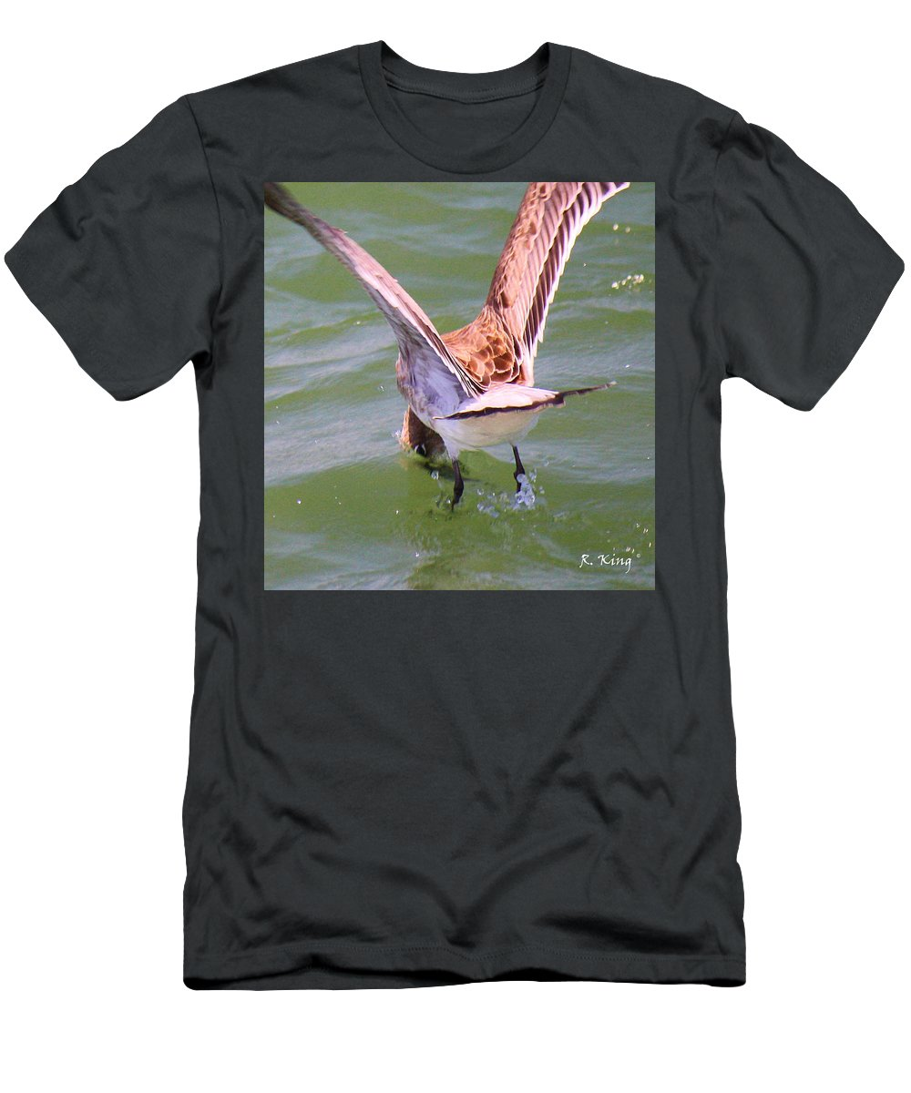 Roena King Men's T-Shirt (Athletic Fit) featuring the photograph This Is How You Catch Them by Roena King