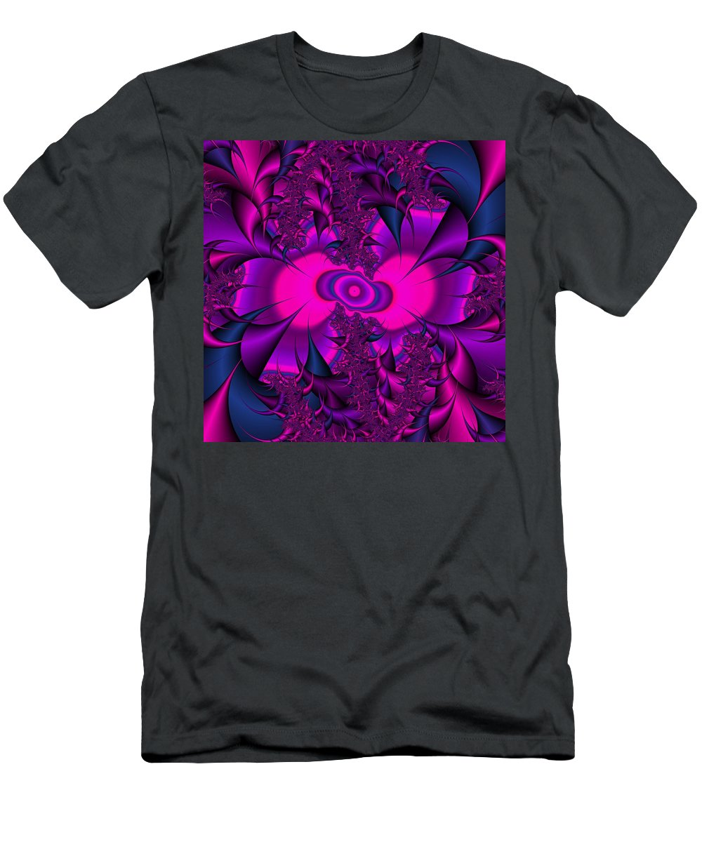 Thorns Men's T-Shirt (Athletic Fit) featuring the digital art Thorned Pride by Christy Leigh