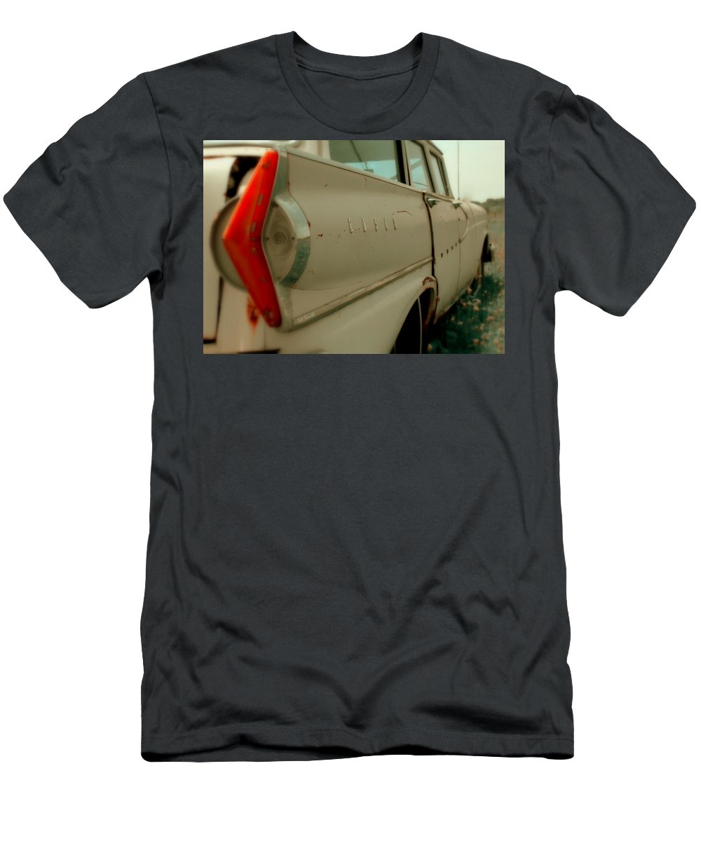 Turn To Stone Men's T-Shirt (Athletic Fit) featuring the photograph Turn To Stone by Ed Smith
