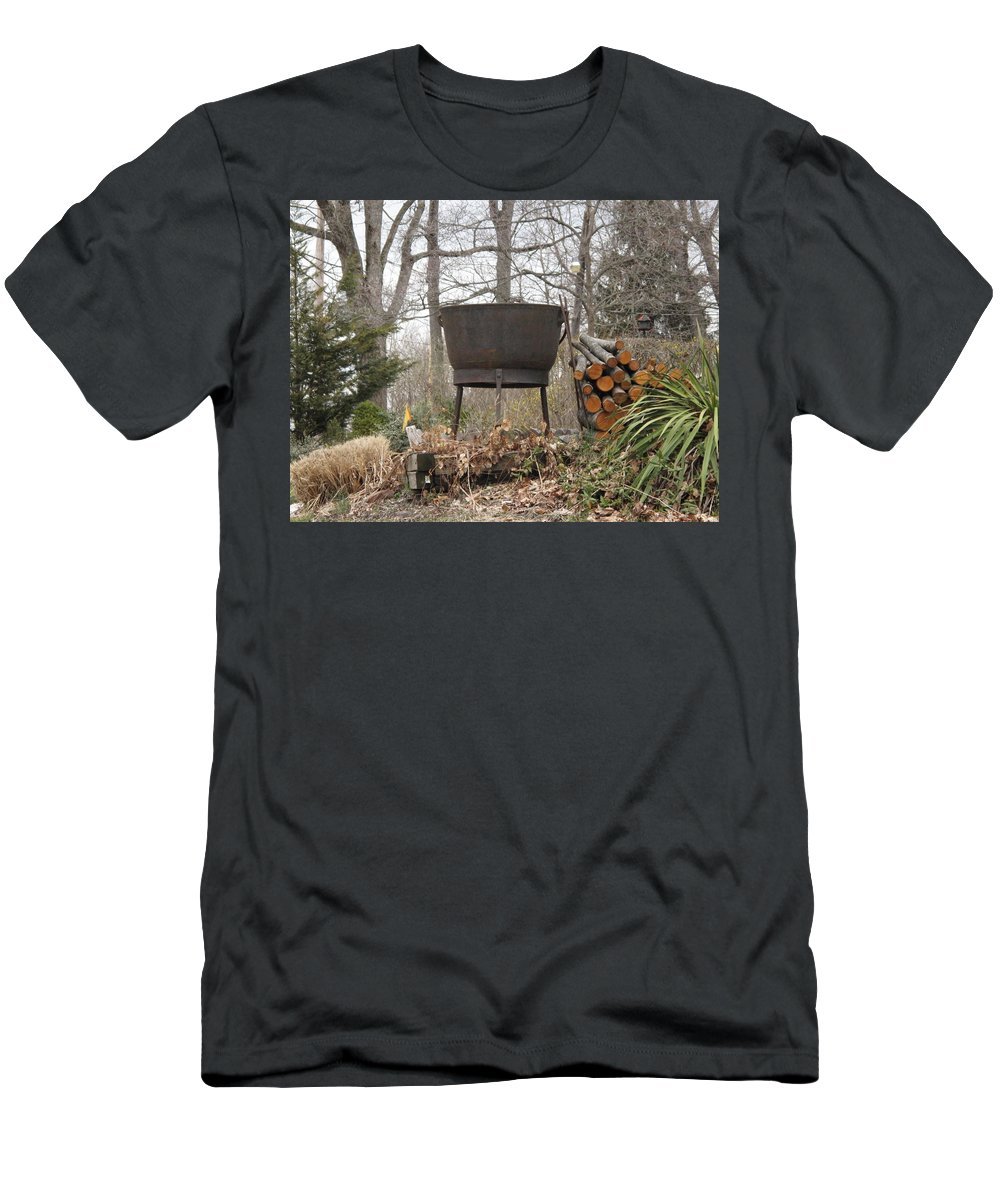 Men's T-Shirt (Athletic Fit) featuring the photograph Warmth For The Lost by Michele Nelson
