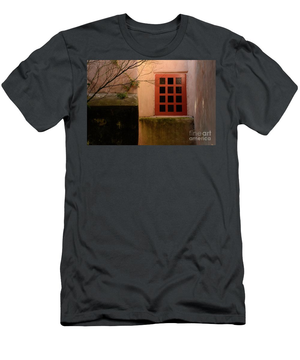 Carmel Men's T-Shirt (Athletic Fit) featuring the photograph Window Light by Bob Christopher