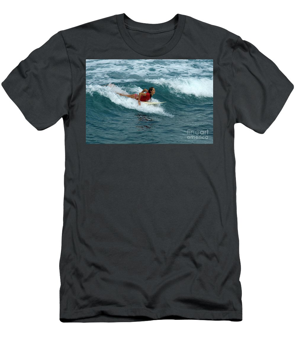 Winter Men's T-Shirt (Athletic Fit) featuring the photograph Winter In Hawaii 1 by Bob Christopher