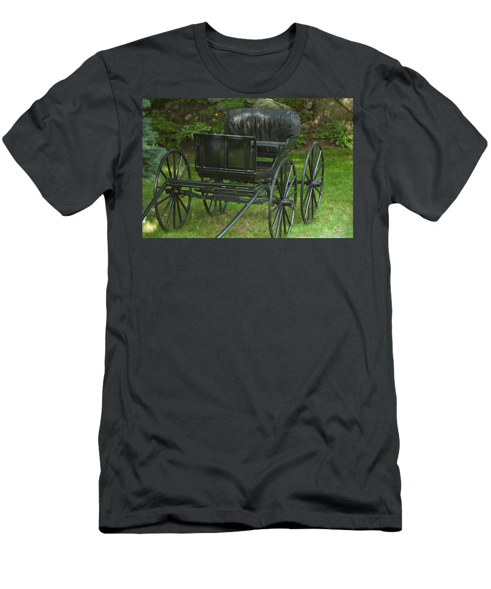 Yesteryear Men's T-Shirt (Athletic Fit) featuring the photograph Yesteryear by Paul Mangold
