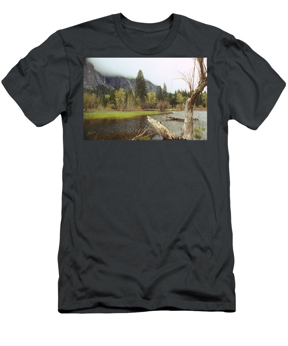 Yosemite Men's T-Shirt (Athletic Fit) featuring the photograph Yosemite by Mark Greenberg