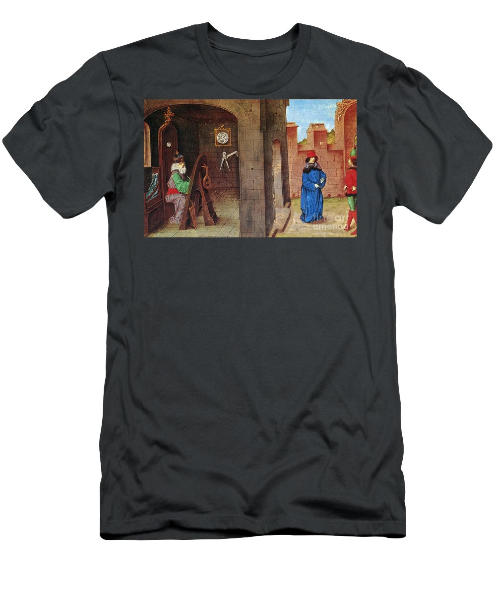 15th Century Men's T-Shirt (Athletic Fit) featuring the photograph Zoroaster (c628-c551 B.c.) by Granger