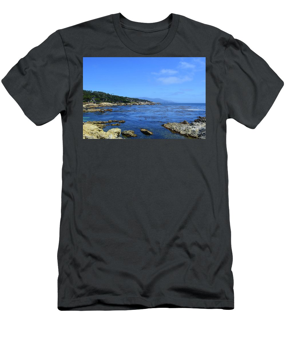 17 Mile Drive Men's T-Shirt (Athletic Fit) featuring the photograph 17 Mile Drive by Brian Stauffer