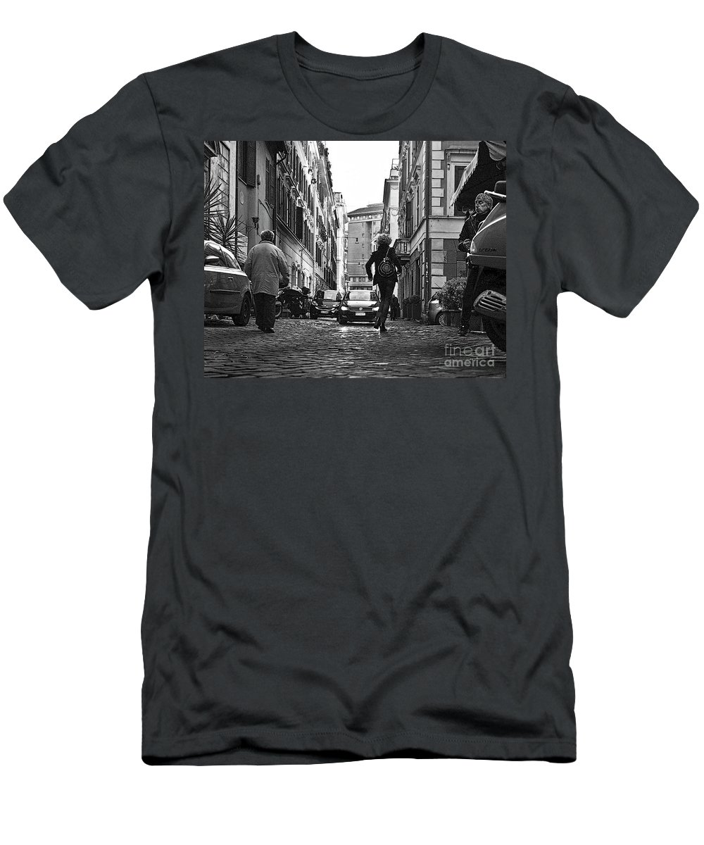 Rome Men's T-Shirt (Athletic Fit) featuring the photograph A33 by Tom Griffithe