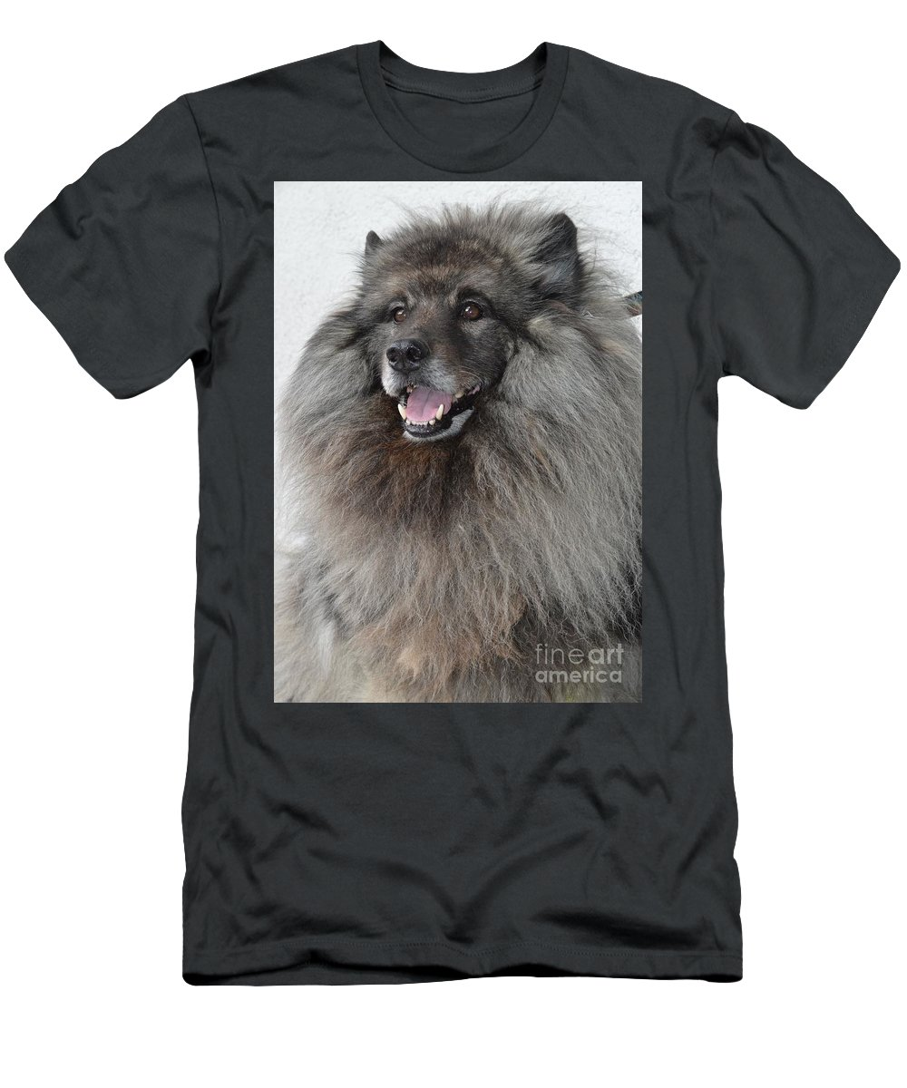 Canine Men's T-Shirt (Athletic Fit) featuring the photograph Canine Beauty by Photos By Zulma