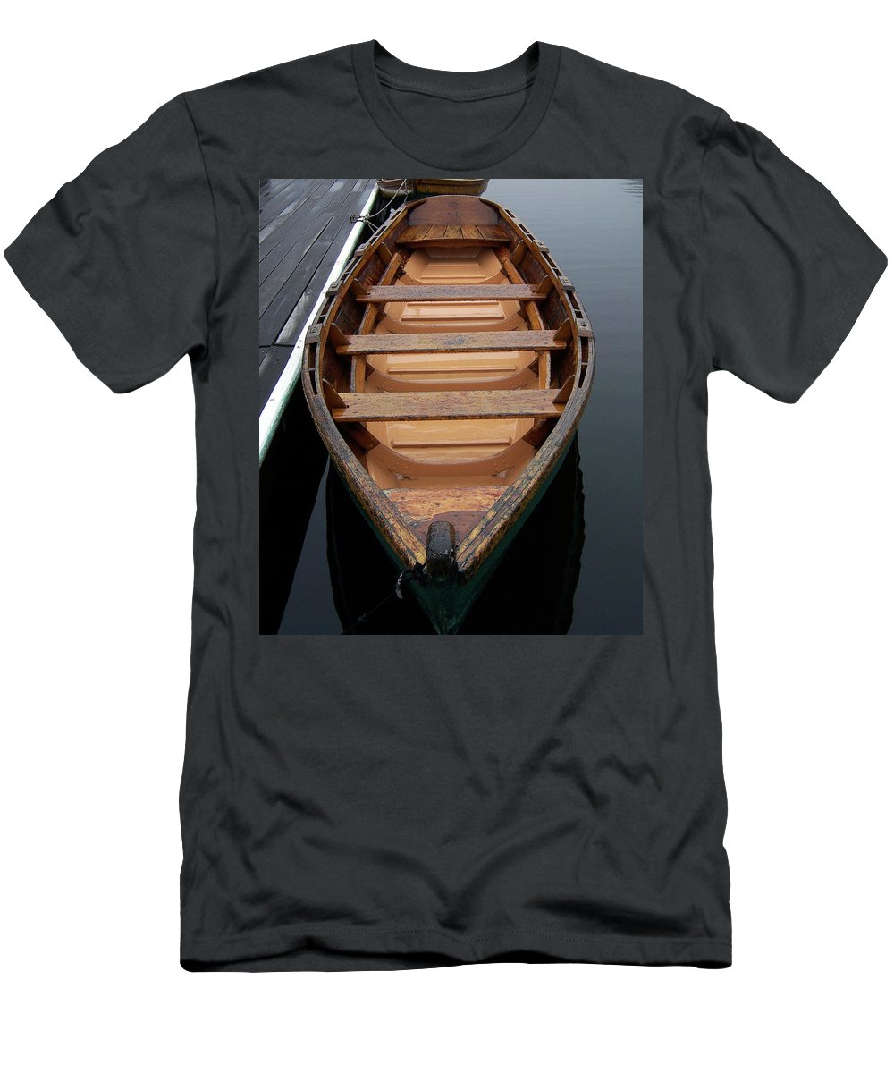 Men's T-Shirt (Athletic Fit) featuring the photograph Canoe by Iris Posner
