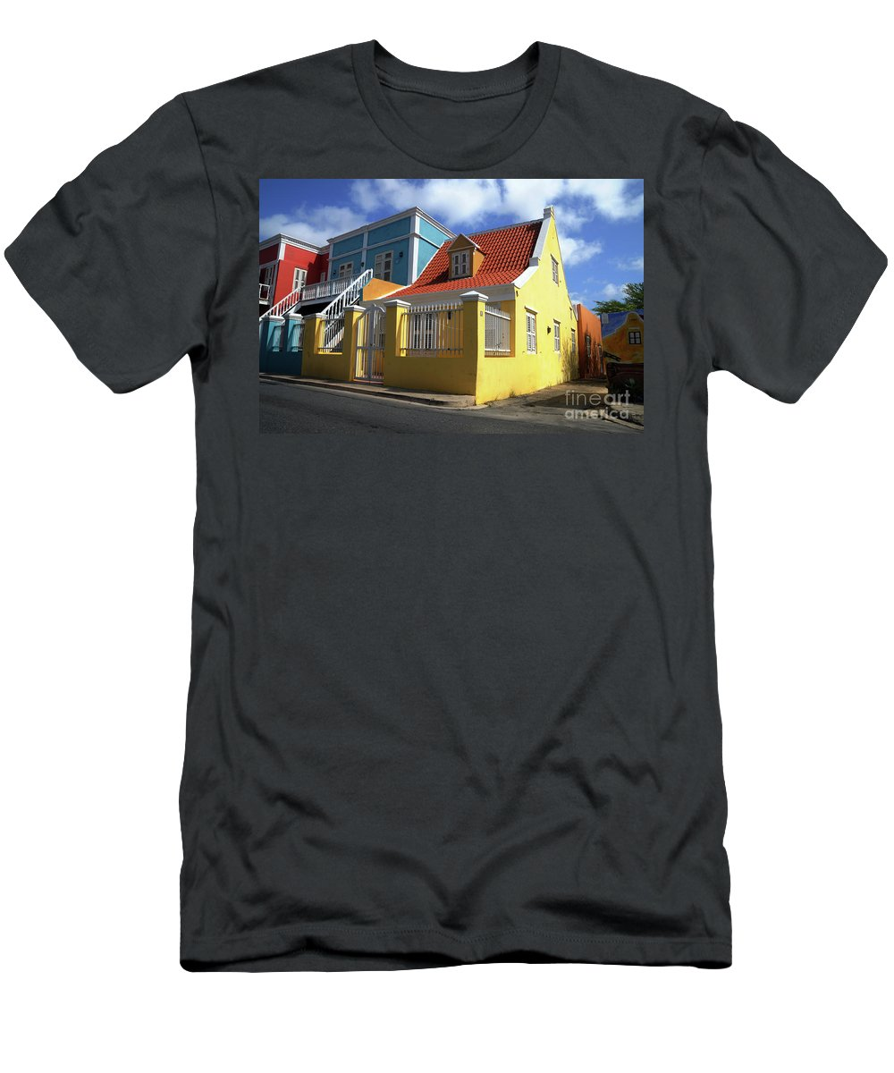 House Men's T-Shirt (Athletic Fit) featuring the photograph Dutch House by Jorge Erick Ramos