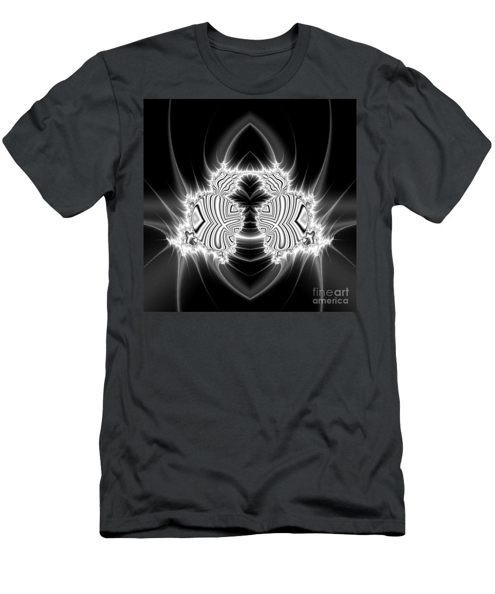 Men's T-Shirt (Athletic Fit) featuring the digital art Fibonacci Beetle by Chaos Fractals