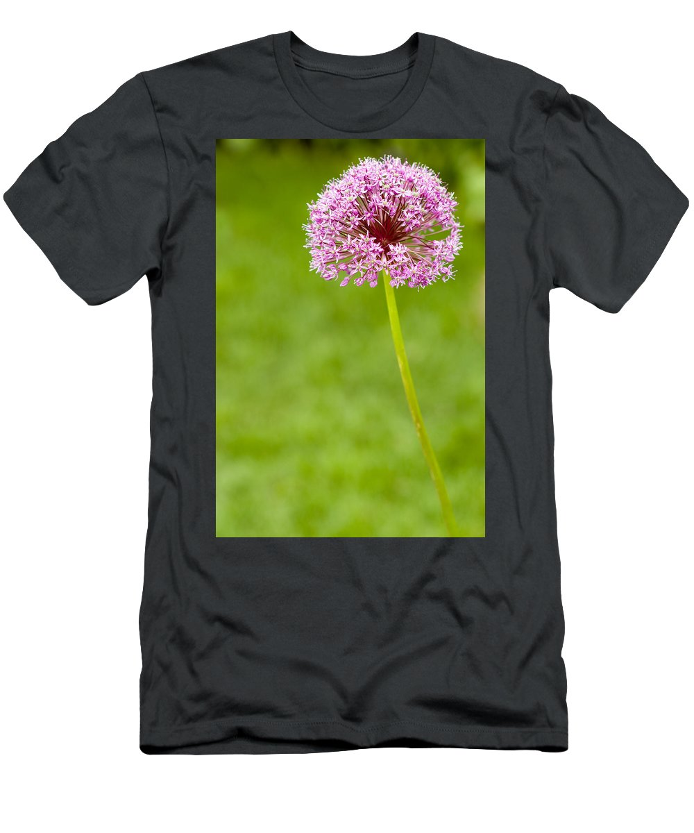 Flower Men's T-Shirt (Athletic Fit) featuring the photograph Flower by Sebastian Musial