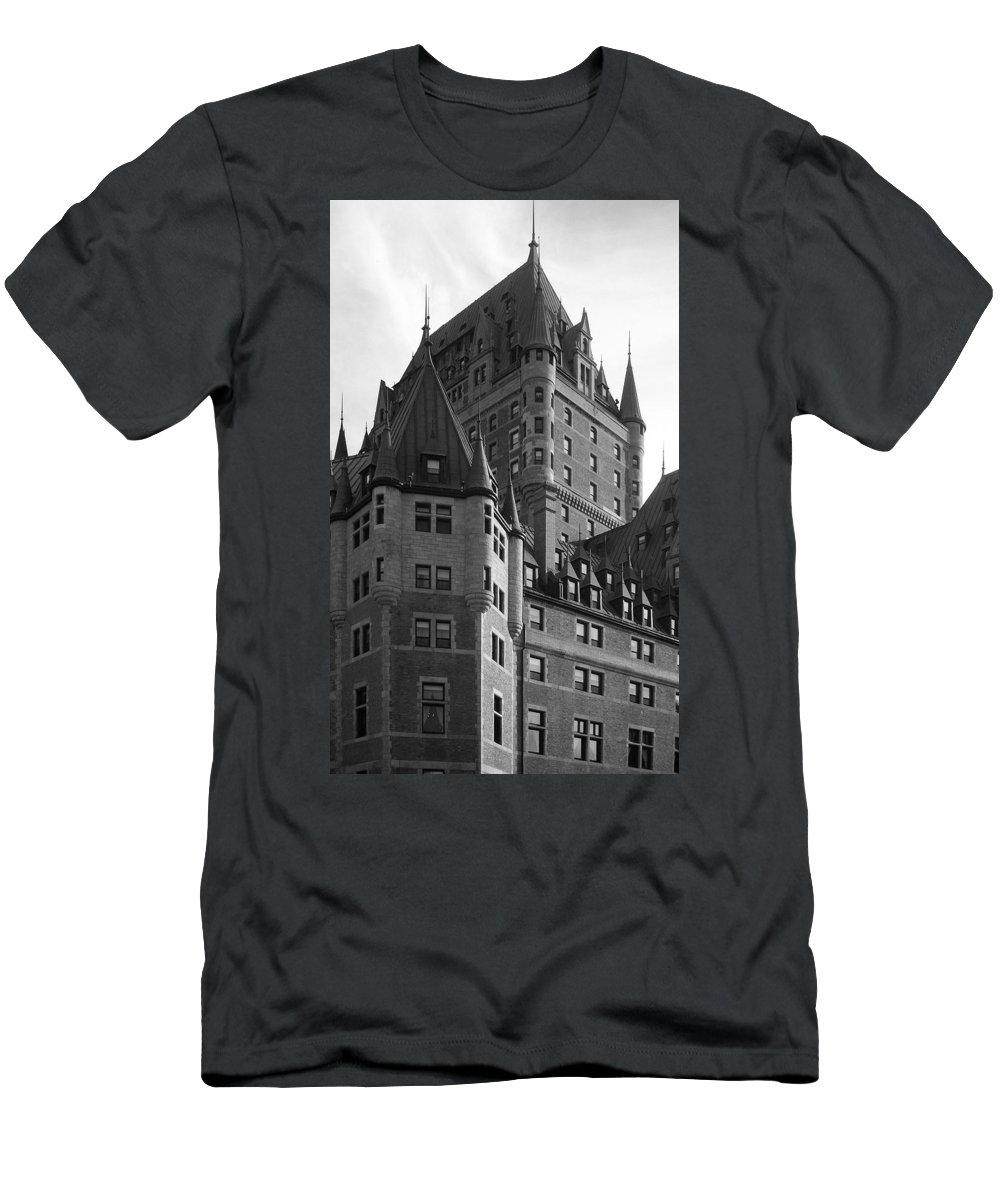North America Men's T-Shirt (Athletic Fit) featuring the photograph Le Chateau by Juergen Weiss